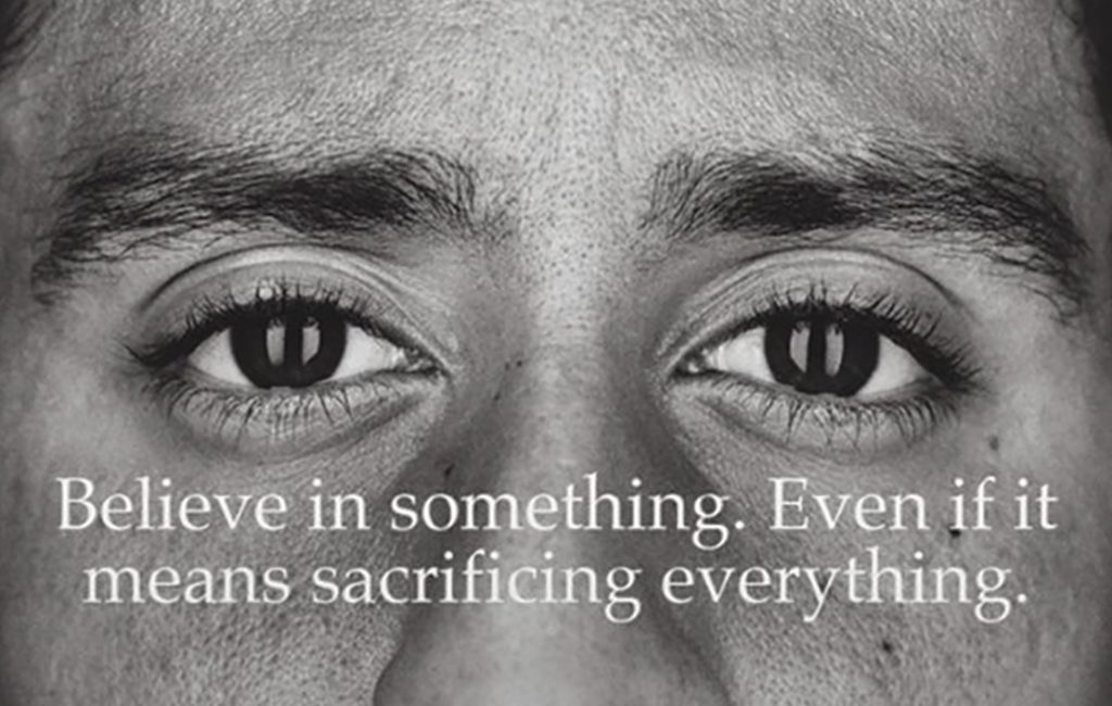 Good for business? Nike gets political with Kaepernick ad