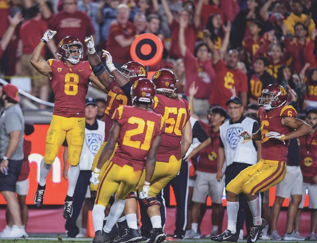 Trojans Win A Tight One at The Coliseum