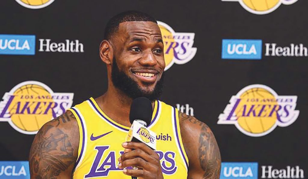 Your New Los Angeles Lakers Host 2018 Media Day