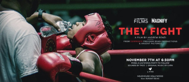 """Copy of Raptors RouFox Sports Films' """"Magnify"""" Series Celebrates One Year Anniversary with """"They Fight"""" Premiere, Sunday November 11 On Foxt Lakers"""