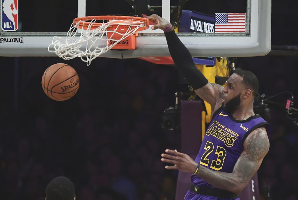 Lakers Beat the Jazz on Black Friday