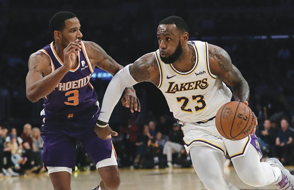 Lakers Beat the Young Suns