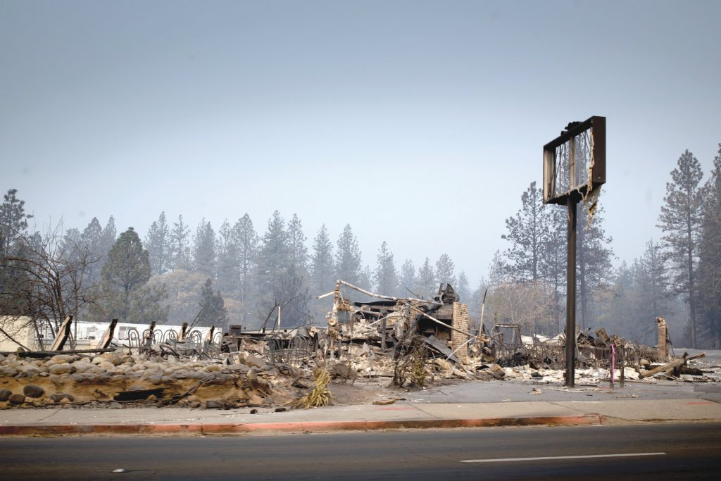 Northern California Seeks Relief from Fire and Rain