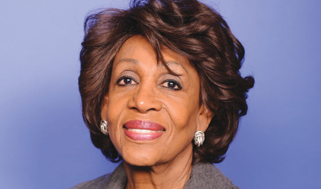 COMMENTARY: California Congresswoman Maxine Waters Makes History