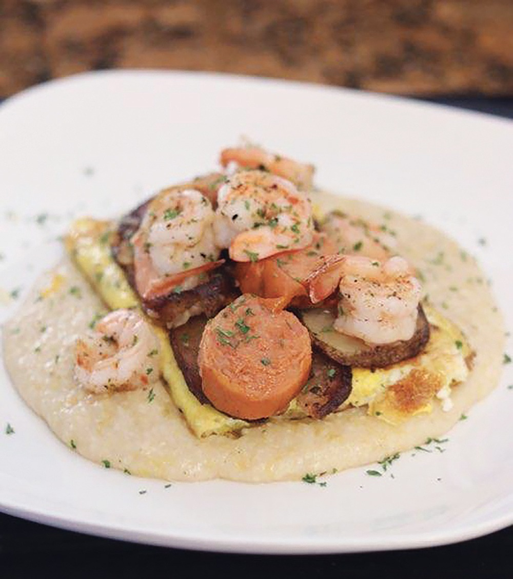 Recipe of the Week: Stacked Shrimp + Grits Breakfast
