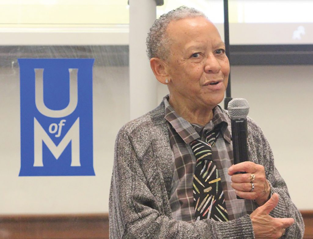 Nikki Giovanni Weaves Her Life's Journey Into University of Memphis Lecture
