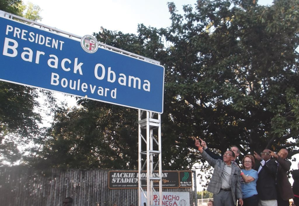 Groovin' at the Obama Boulevard Naming Ceremony and Street Festival