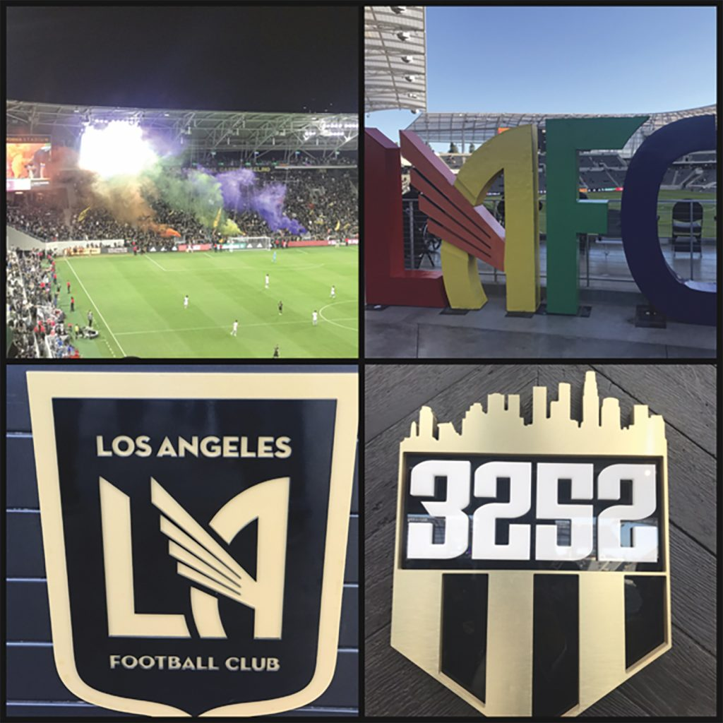 LAFC Routs Montreal Impact on Friday night!