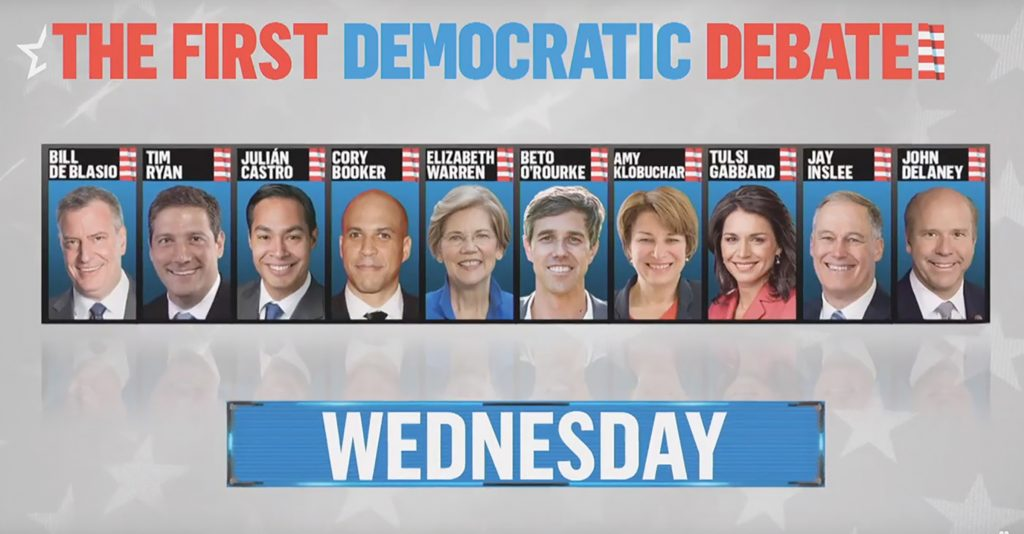 First Democratic Debate of the 2020 Race Features Almost No Questions on the Black Agenda