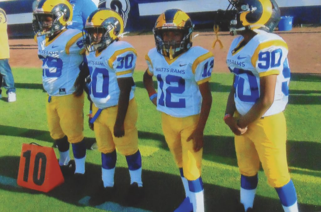 L.A. Rams Bring Watts Rams in the House