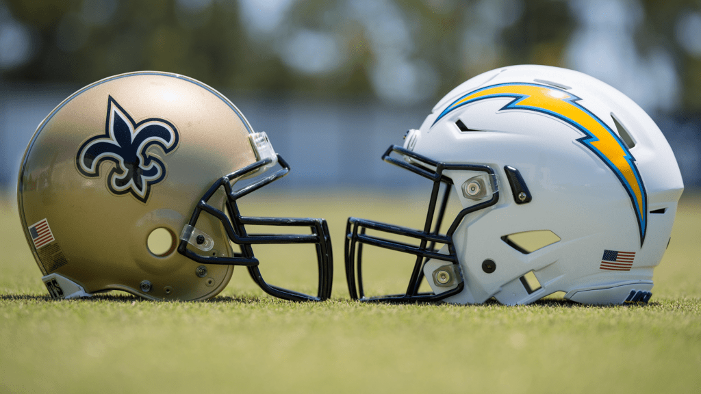 Los Angeles Chargers host the New Orleans Saints in inter-squad practice