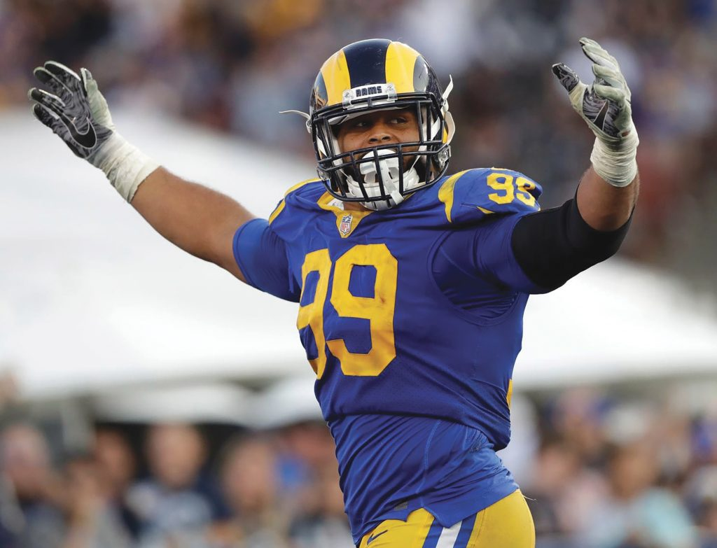 Experience of a Lifetime: Rams to Offer Young Fans Opportunity to Workout With Two-Time Defensive Player of the Year Aaron Donald