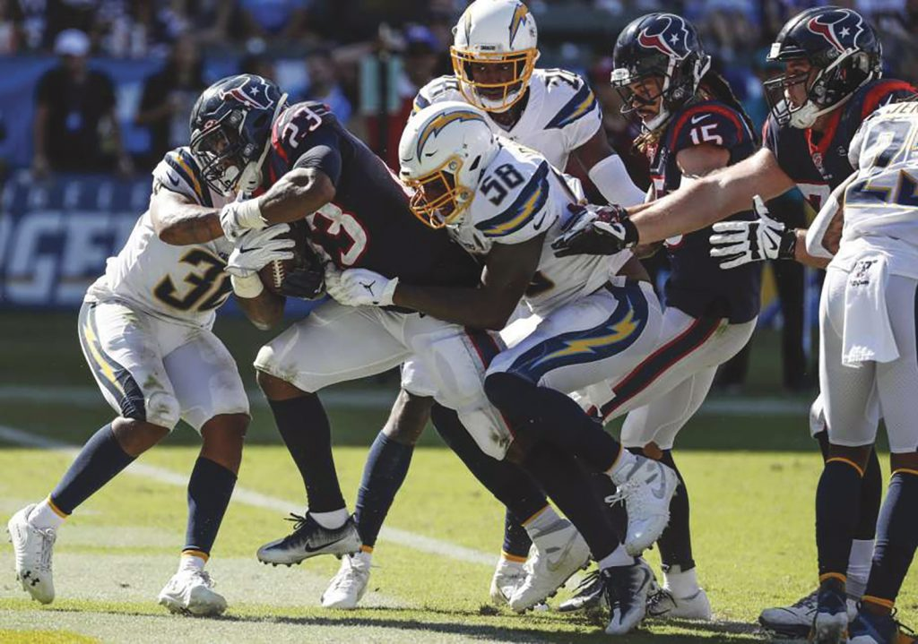 Houston Texans Upset Chargers at Dignity Health Sports Park