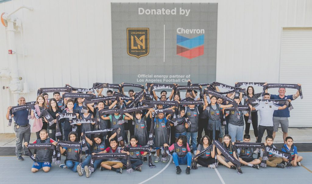 LAFCAND CHEVRON UNVEIL NEW FUTSAL COURT IN THE BAKERSFIELD COMMUNITY