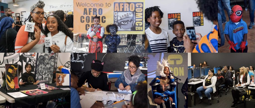 AfroComicCon Offers a Platform for Diversity in Pop Culture