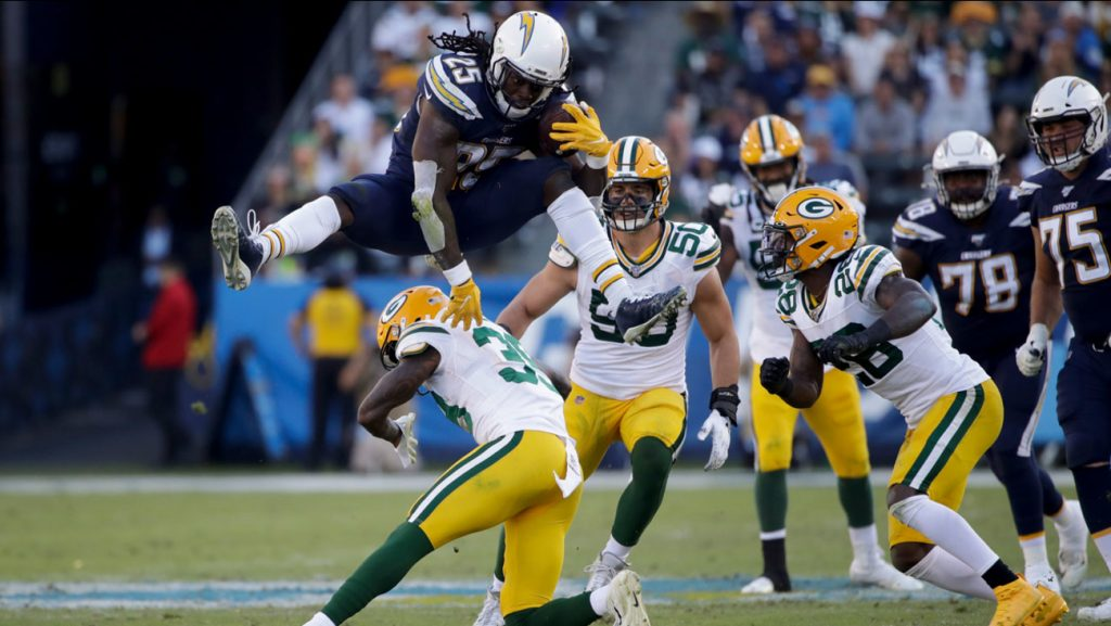Los Angeles Chargers Shut Down Aaron Rodgers and the Green Bay Packers