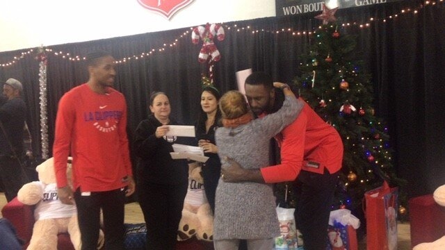 L.A. Clippers To Celebrate The Holiday Season At 14Th Annual Adopt-A-Family Event