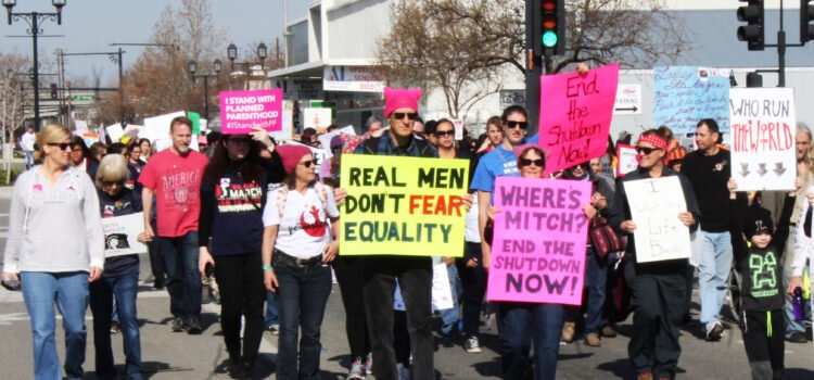 'Women Rise' For Third Annual Women's March In Kern Next Weekend