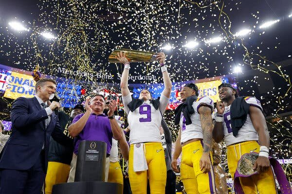 LSU Tigers Take National Title