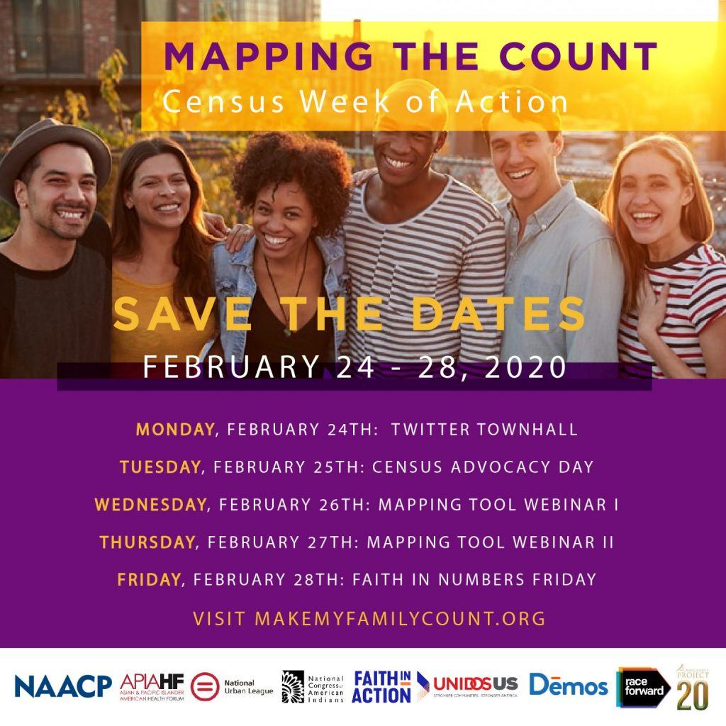 Mapping the Count: Census Week of Action