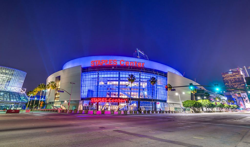 Lakers, Clippers, Kings, and STAPLES Center Steps In For Workers