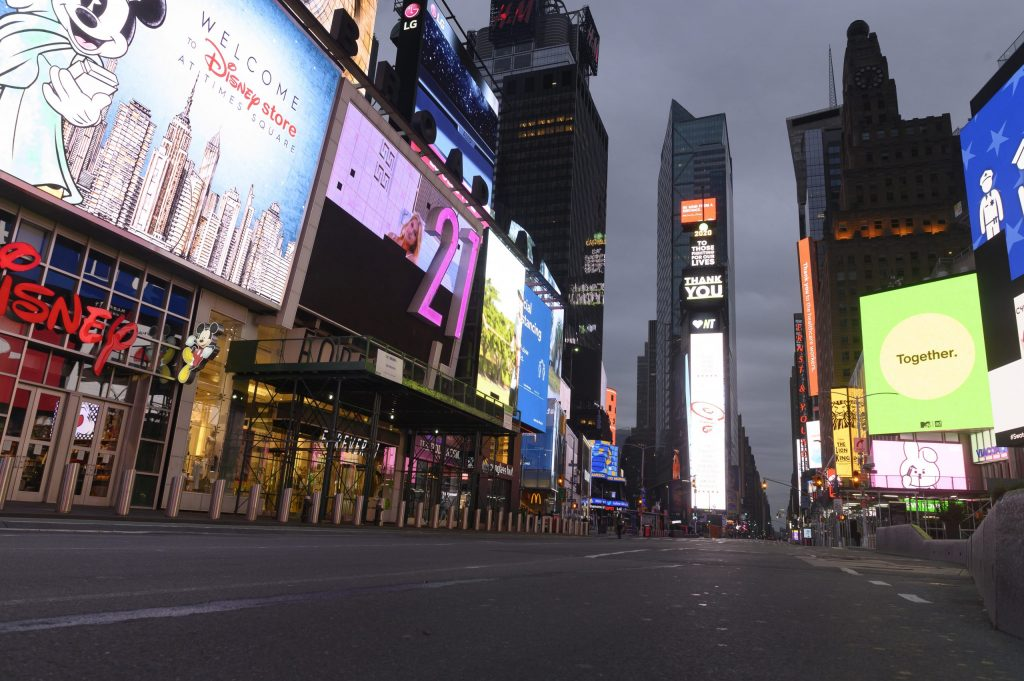 HOW WE LIVE NOW: New York City Copes with COVID-19