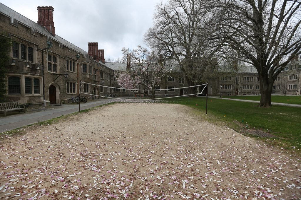 HOW WE LIVE NOW: Scenes from silent, locked down Princeton University