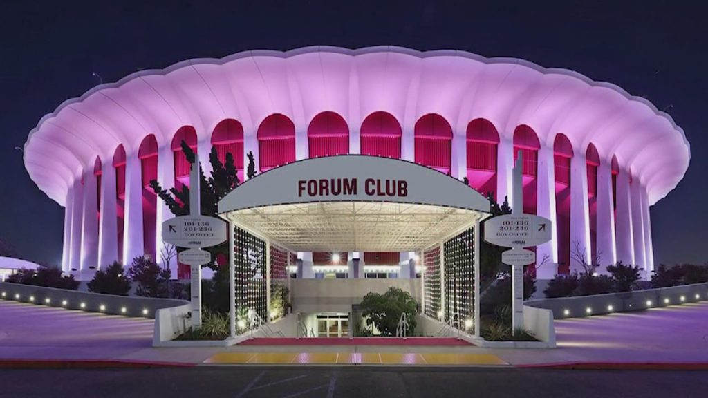 Capss LLC Completes Purchase Of The Forum In Inglewood