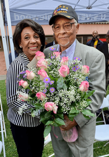 Rep.Waterson the Death of Willie Agee, the Honorary Mayor of Inglewood