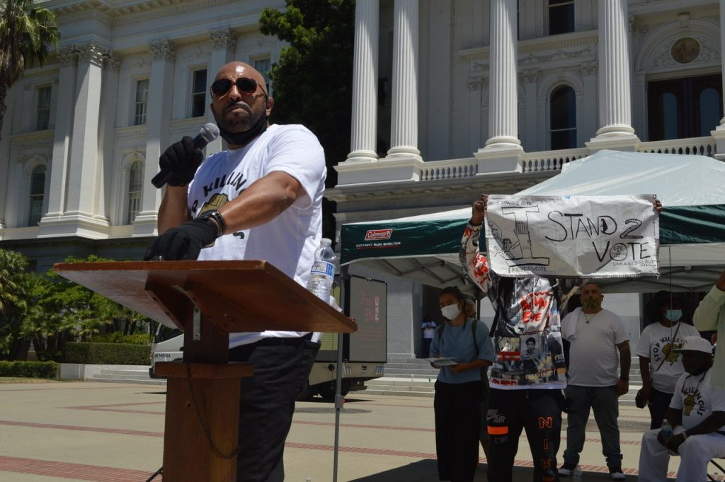 """""""Stop Killing Us:"""" Activists Bring Their Pain to State Capitol"""