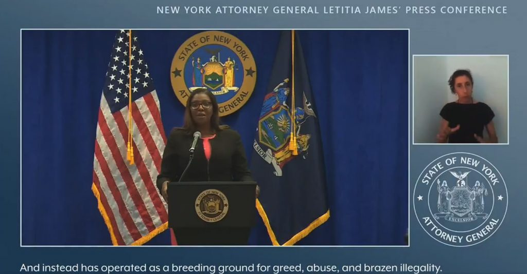 New York's Attorney General Alleges Widespread Corruption at the NRA
