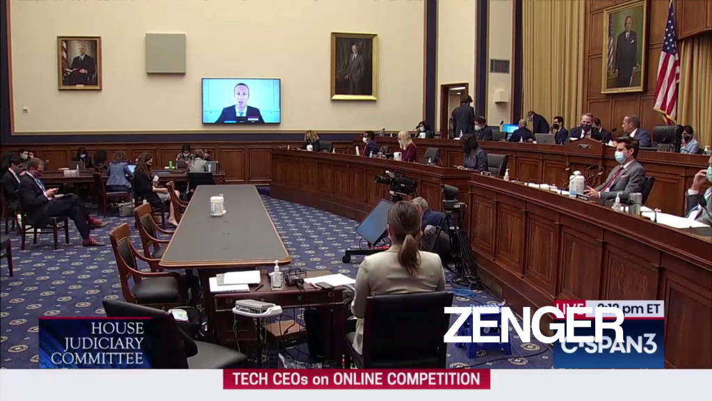Congress presses Big Tech on competition