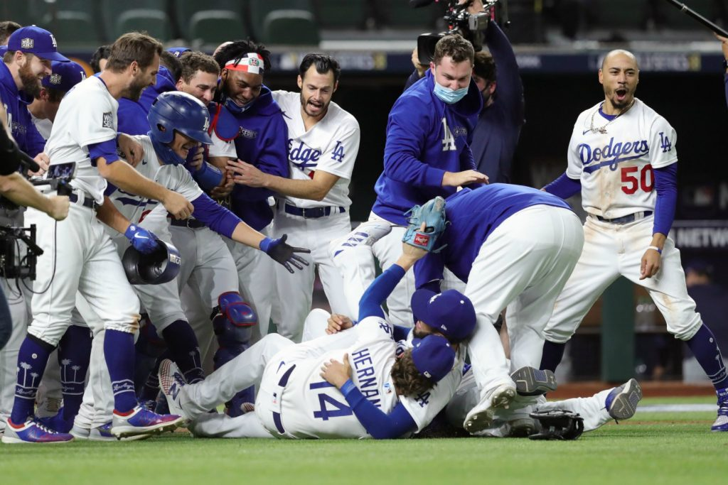 Dodgers End 32 Year World Series Drought