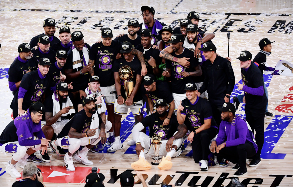 LAKERS are KING(S) of Pro Basketball
