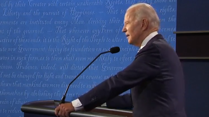 Biden Calls Trump 'Racist' and President Boasts of 'Letting People out of Jail' in Heated Debate