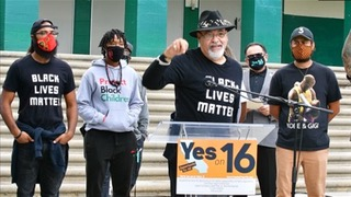 Coalition Of Civil Rights And Labor Leaders Urge Passage Of Proposition 16