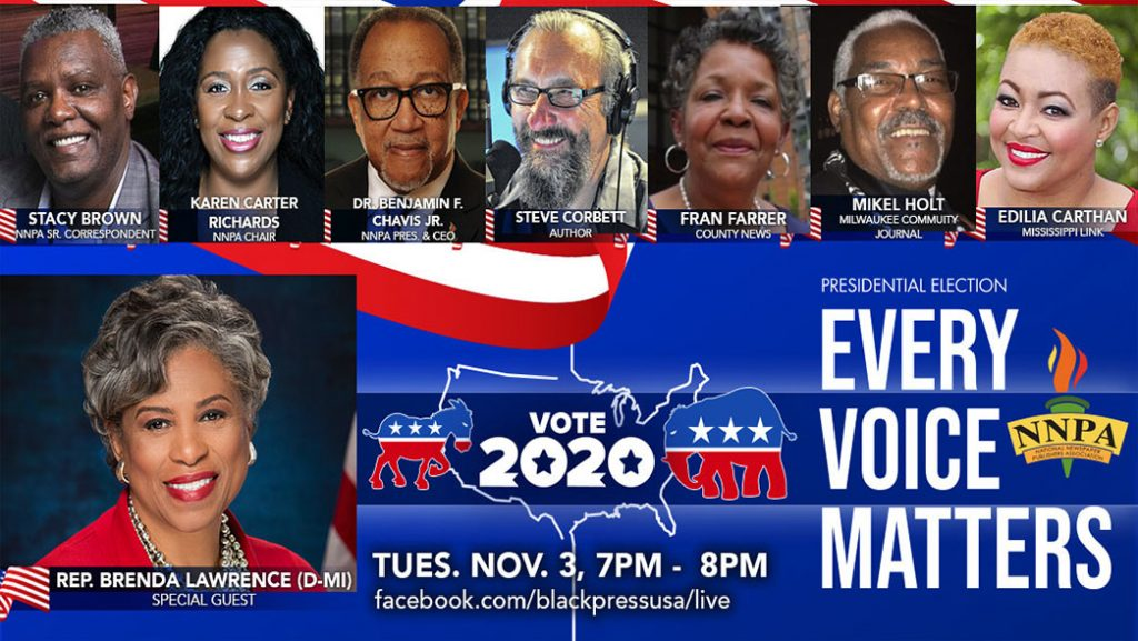 NNPA to Broadcast Live 2020 Election Night Coverage