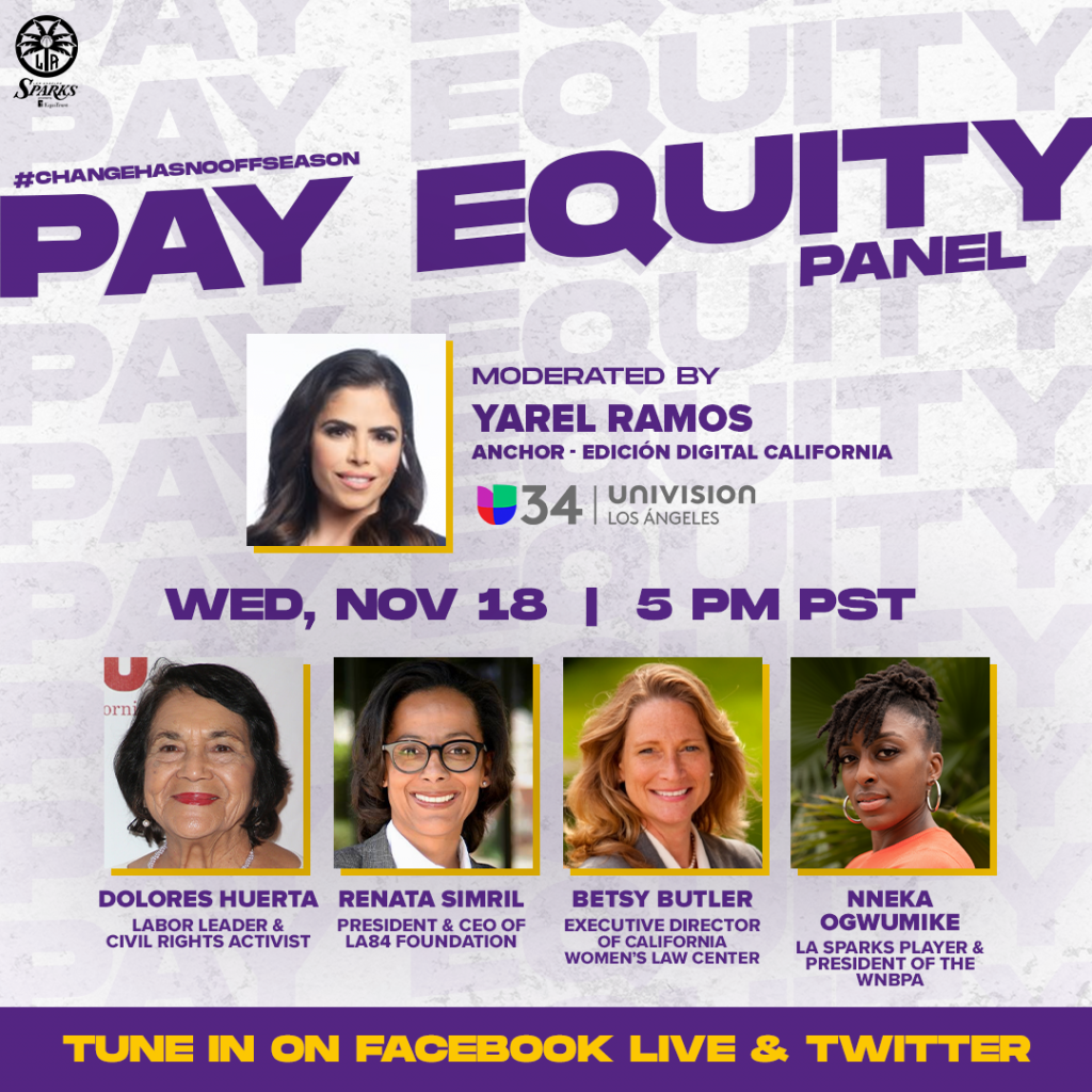 Sparks To Host Pay Equity Panel Featuring Nneka Ogwumike