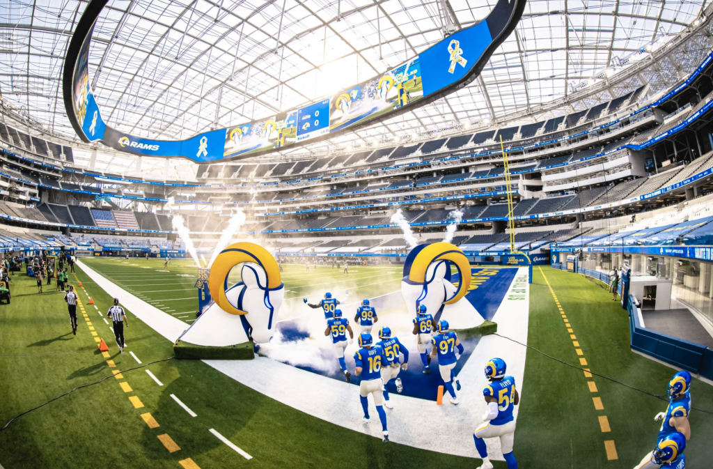 Rams Continue To Defend Home Field