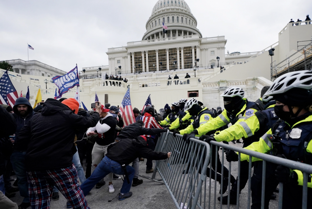 California Officials Respond to Trump Supporters' Attack on U.S. Capitol