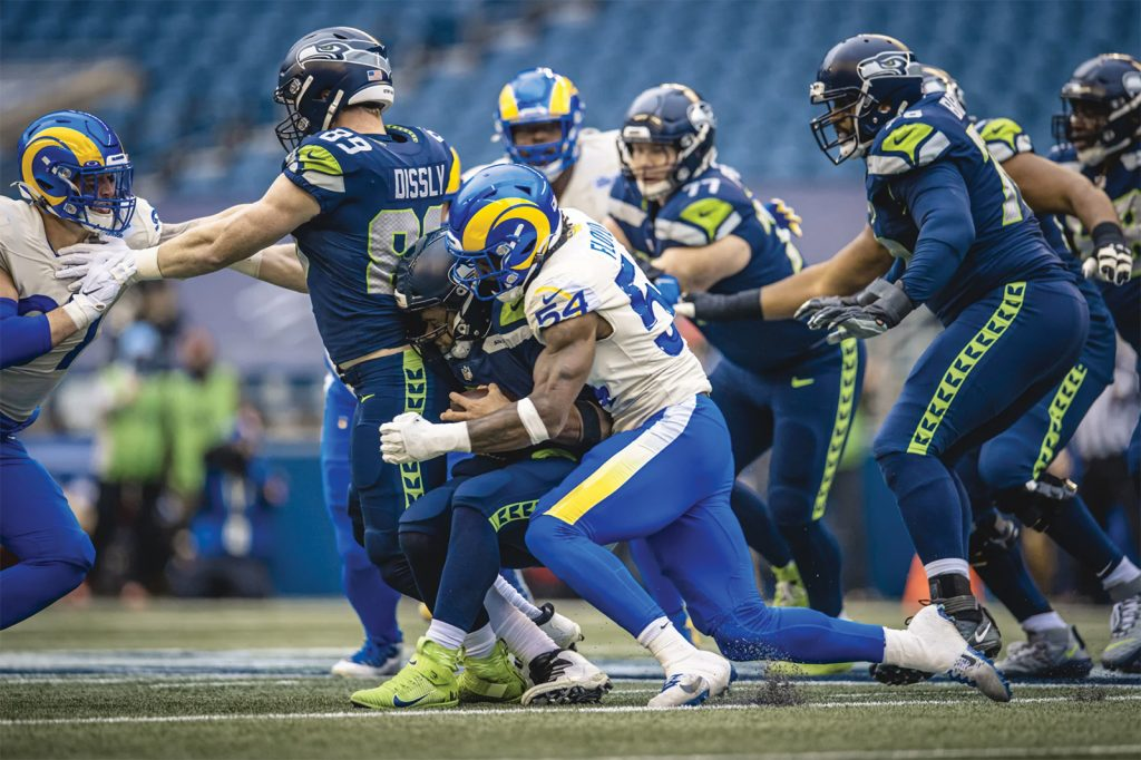Rams Defense moves them to next round