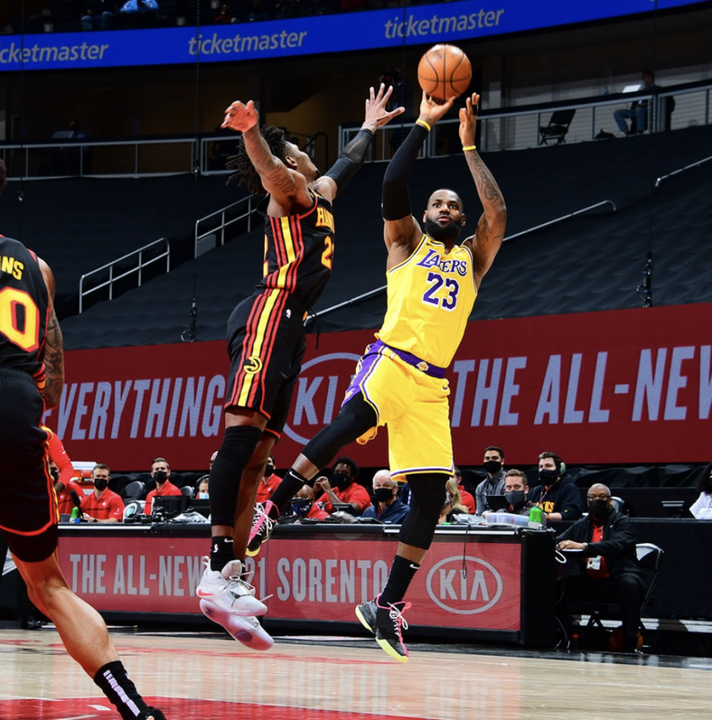 Lakers Answer Road Challenge