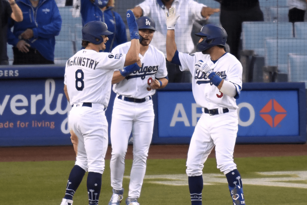Dodgers Sweep it up at home