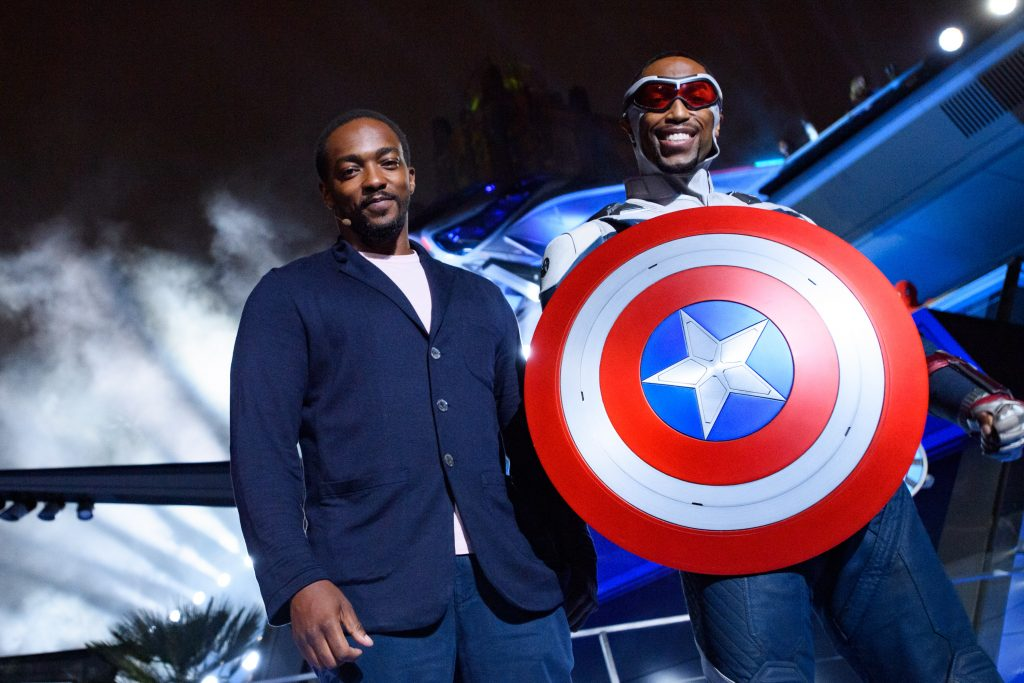 Beloved characters Black Panther, Okoye, the Dora Milaje, actor Anthony Mackie and more headline epic grand opening ceremony for Avengers Campus at Disney California Adventure Park
