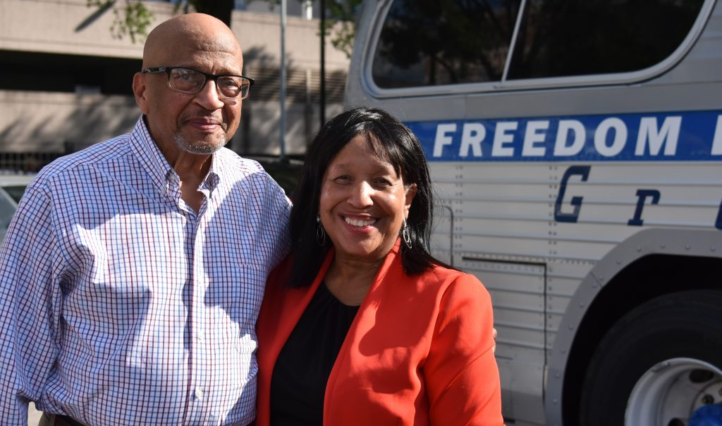 60 Years Later, Freedom Riders Roll into Birmingham