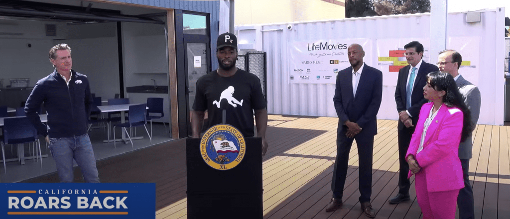 Cali-Born Steelers Rookie Joins Gov. Newsom's Efforts Against Homelessness and Hunger