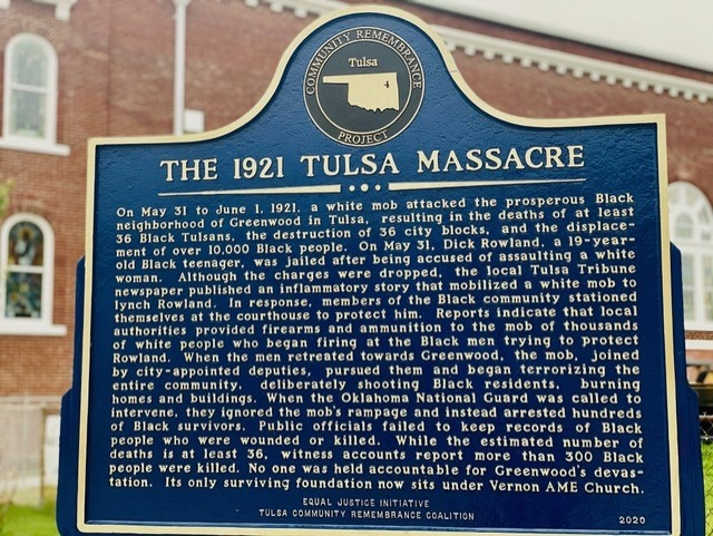 Commentary: Together, We Should Seek Justice for the Tulsa Massacre 100 Years Later