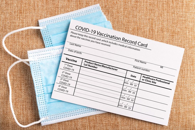 Doctor's Orders: Don't Post Your COVID-19 Vaccine Card Online