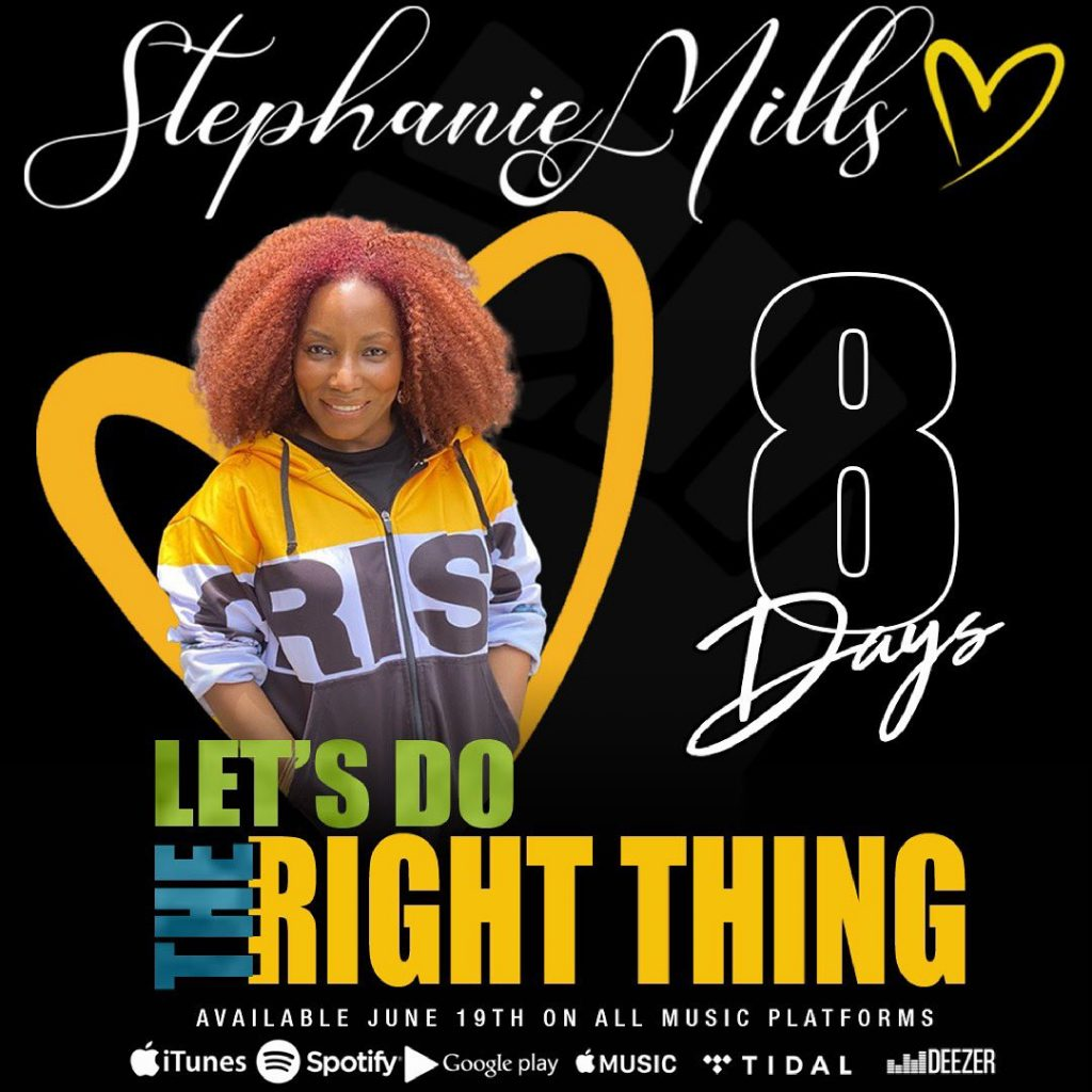 Grammy Award Winner Stephanie Mills Releases New Music Decrying Racial Injustice, Police Violence