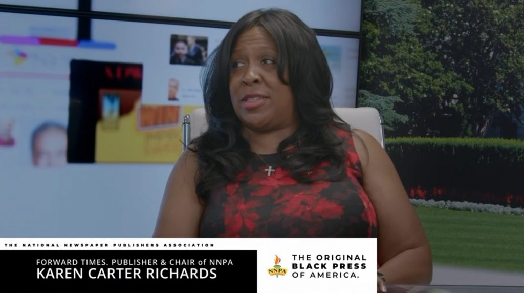 NNPA Chair Karen Carter Richards Leads Black Press to Most Successful Period in History